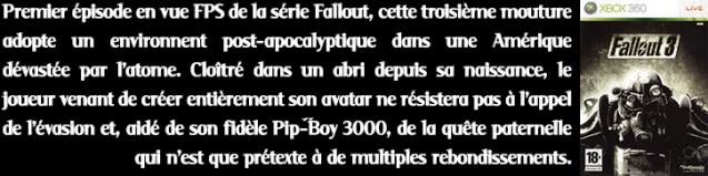 Description PTs3#8 Fallout 3 (X360)